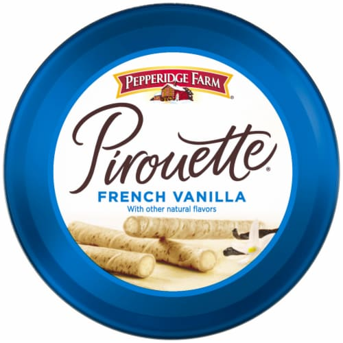 Pepperidge Farm Pirouette French Vanilla Creme Filled Wafers Perspective: top