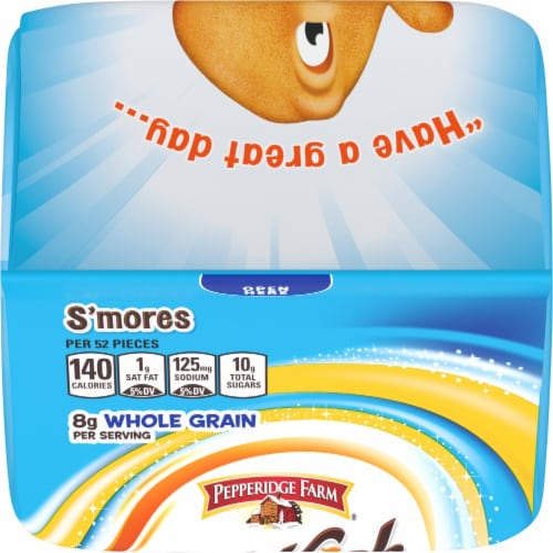 Pepperidge Farm® Goldfish® Grahams S'mores Baked Graham Snacks Perspective: top