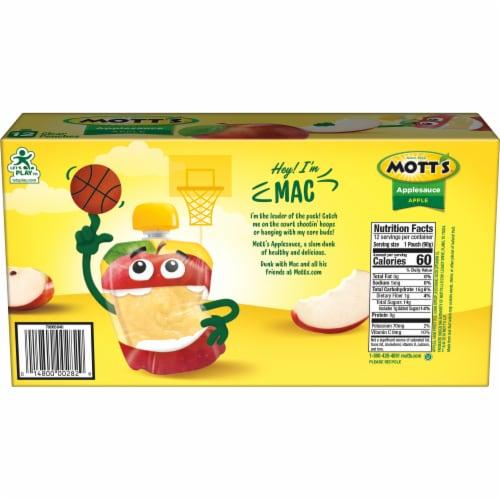 Mott's Applesauce Pouches Perspective: top