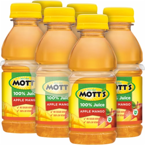 Mott's Apple Mango Juice Perspective: top