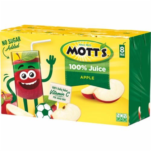 Mott's 100% Original Apple Juice Boxes Perspective: top