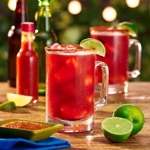 Clamato® Original Tomato Cocktail Perspective: top
