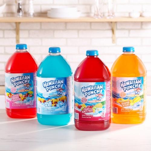 Hawaiian Punch Fruit Juicy Red Juice Drink Perspective: top