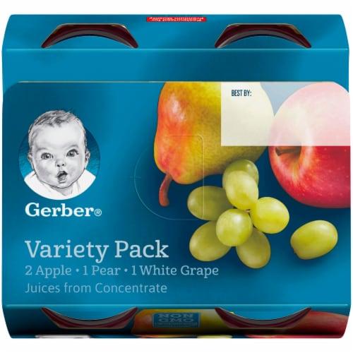 Gerber® Fruit Juice Variety Pack Perspective: top