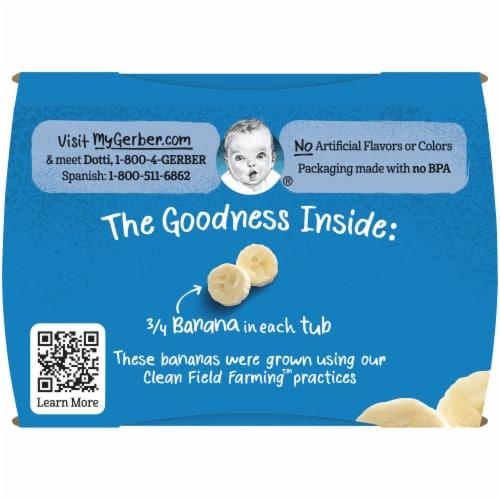 Gerber® 2nd Foods®  Banana Stage 2 Baby Food Perspective: top