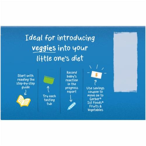 Gerber® My 1st Veggies Starter Kit Baby Food Multipack Perspective: top