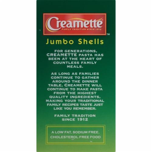 Creamette Jumbo Shells Pasta Perspective: top