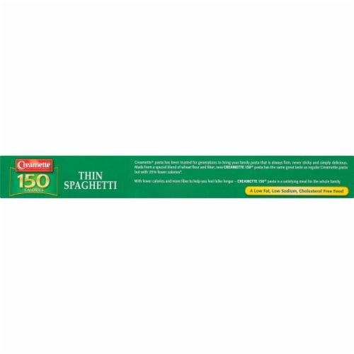 Creamette 150 Calorie Thin Spaghetti Perspective: top
