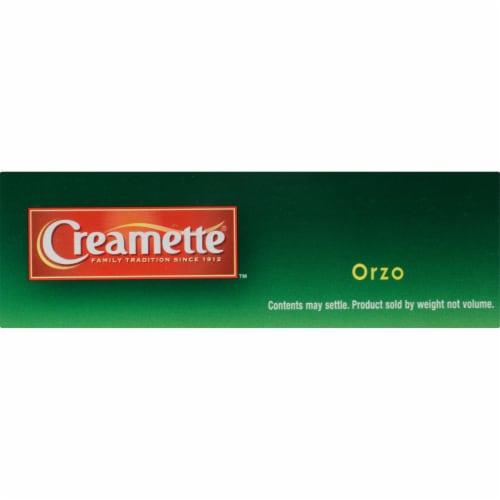 Creamette Orzo Pasta Perspective: top