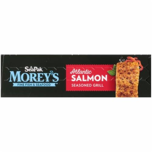 Morey's Seasoned Grill Atlantic Salmon Perspective: top