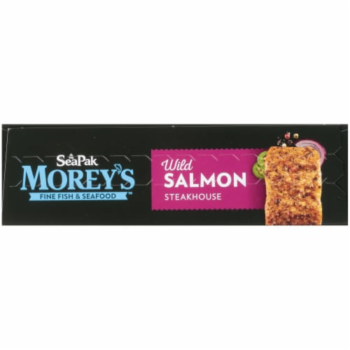 Moreys Wild Salmon Steakhouse Fillets Perspective: top