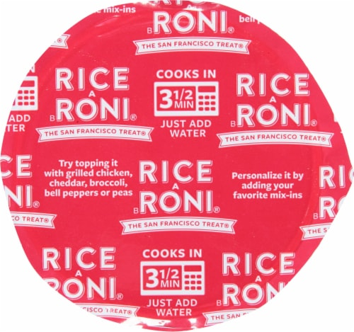 Rice-A-Roni Chicken Flavor Rice Perspective: top