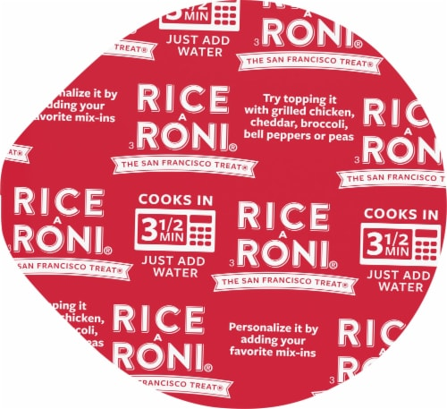 Rice-A-Roni Cheddar Broccoli Flavor Rice Cup Perspective: top