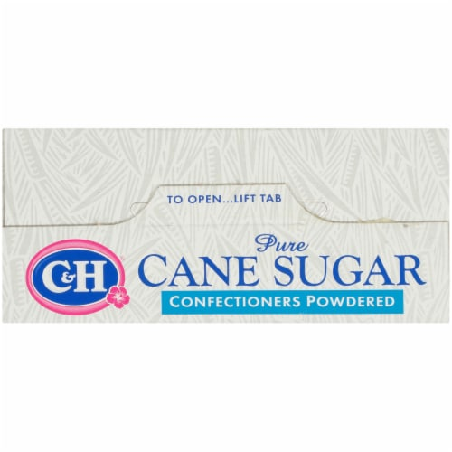 C&H Pure Cane Powdered Sugar Perspective: top