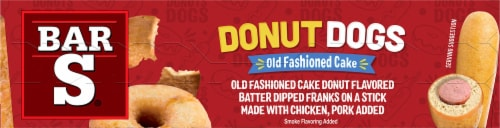 Bar-S Old Fashioned Cake Donut Dogs Perspective: top