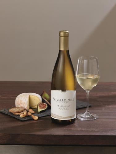 William Hill Estate Napa Valley Chardonnay White Wine 750ml Perspective: top