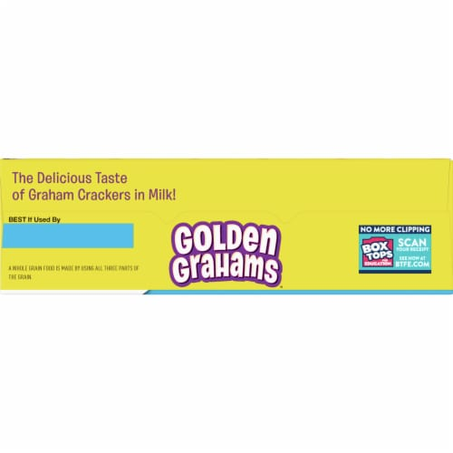 Golden Grahams Cereal Giant Size Perspective: top