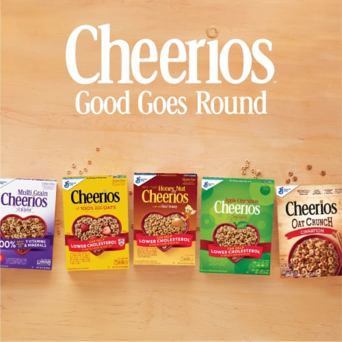 Cheerios Toasted Whole Grain Oat Cereal Giant Size Perspective: top