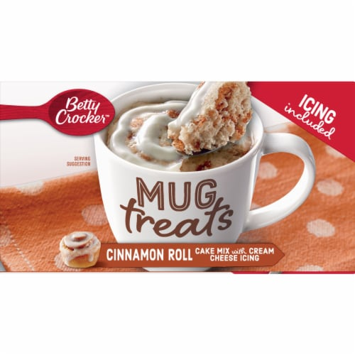 Betty Crocker Mug Treats Cinnamon Roll Mix Perspective: top