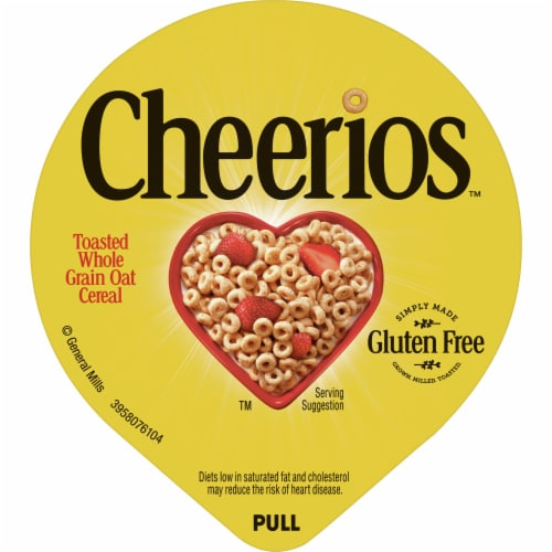 Cheerios Cereal Perspective: top