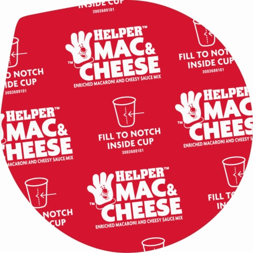 Hamburger Helper Bold Three Cheese Mac & Cheese Microwave Cup Perspective: top