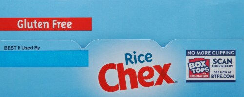 Chex™ Gluten Free Oven Toasted Rice Cereal Family Size Perspective: top