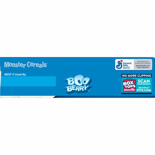General Mills Boo Berry™ Cereal Perspective: top