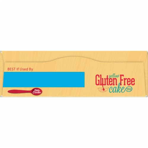 Betty Crocker Gluten Free Yellow Cake Mix Perspective: top