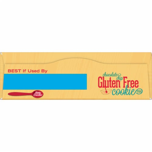Betty Crocker Gluten Free Chocolate Chip Cookie Mix Perspective: top
