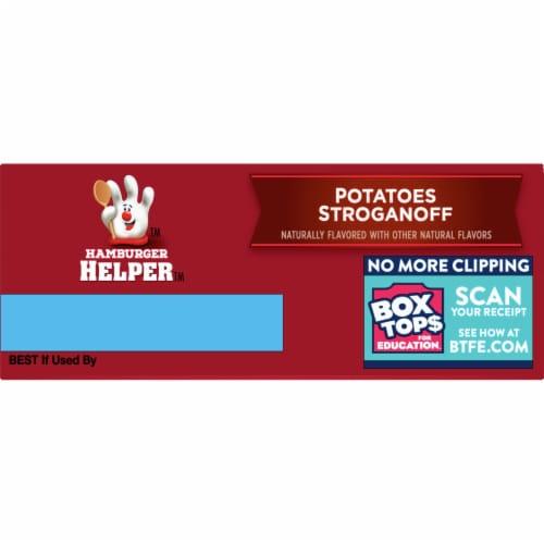 Hamburger Helper Potatoes Stroganoff Perspective: top