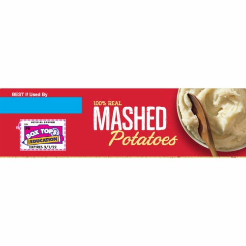 Betty Crocker Mashed Potatoes Perspective: top