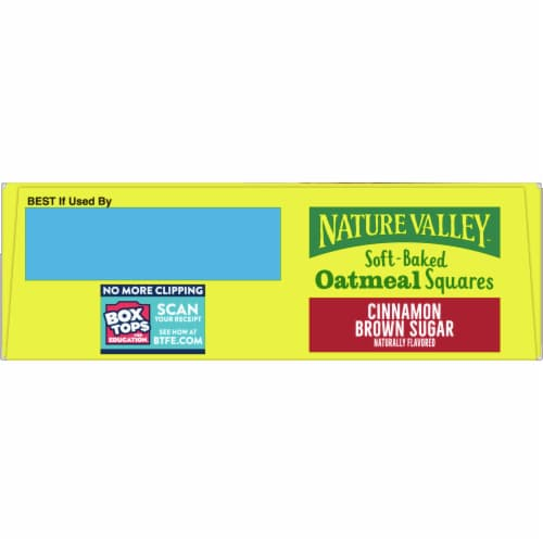 Nature Valley Soft Baked Cinnamon Brown Sugar Oatmeal Squares Perspective: top