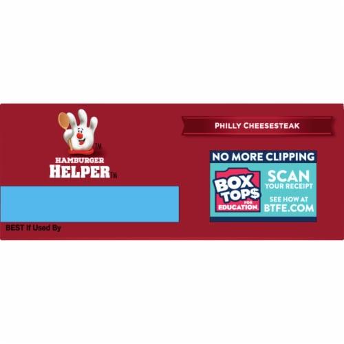 Hamburger Helper Philly Cheesesteak Mix Perspective: top