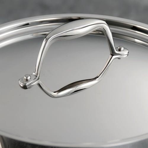 Tramontina Covered Saucepan Perspective: top