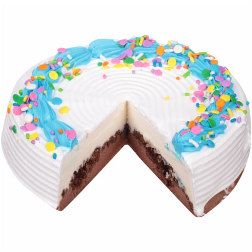 Carvel Lil' Love Ice Cream Cake Perspective: top