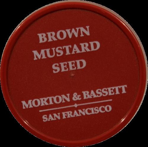 Morton & Bassett Brown Mustard Seed Perspective: top