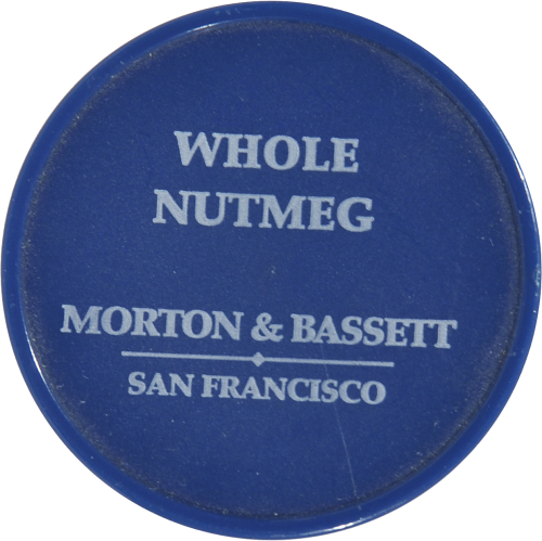 Morton & Bassett All Natural Whole Nutmeg Perspective: top
