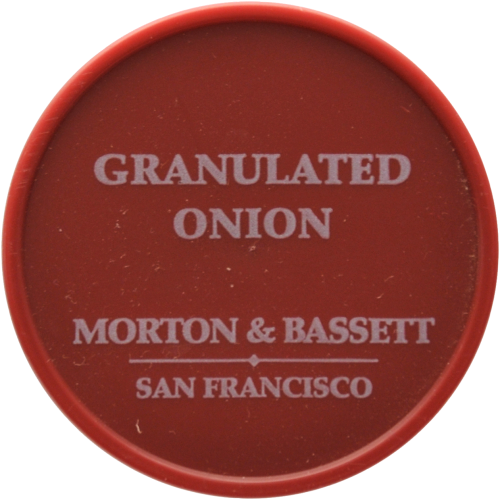 Morton & Bassett Granulated Onion With Parsley Perspective: top