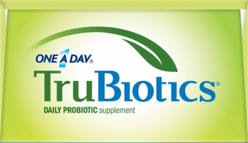 One A Day TruBiotics Daily Probiotic Supplement Capsules Perspective: top