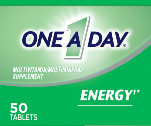 One A Day® Energy Multivitamin Tablets Perspective: top