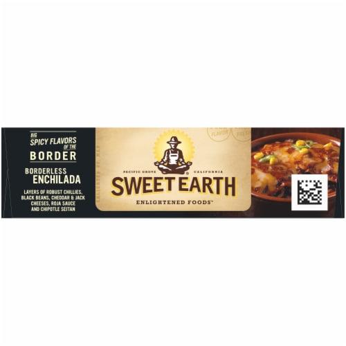 Sweet Earth Borderless Enchilada Frozen Meal Perspective: top