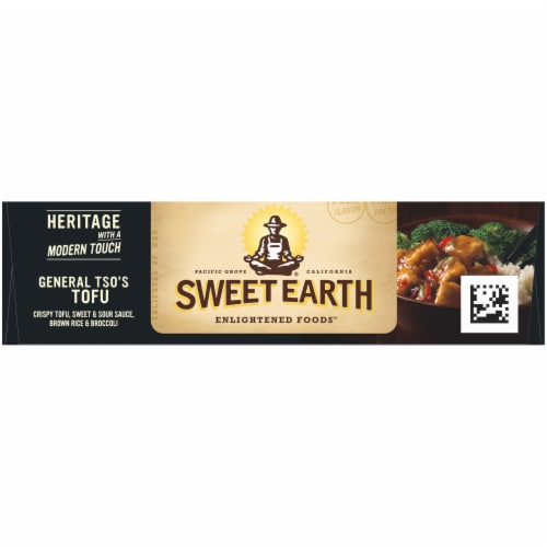 Sweet Earth General Tso's Tofu Frozen Bowl Perspective: top