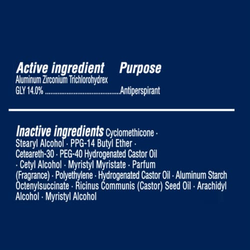 Right Guard Sport Fresh Invisible Solid Antiperspirant Deodorant Perspective: top