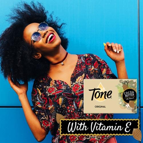 Tone® Original Cocoa Butter Bar Soap Perspective: top