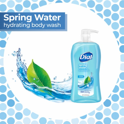 Dial® Spring Water Body Wash Perspective: top