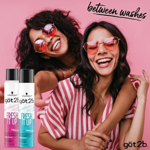 Schwarzkopf got2b Fresh It Up Instant Refresh Dry Shampoo Perspective: top