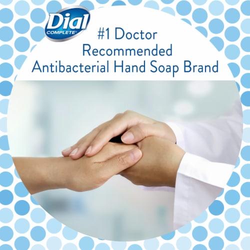 Dial Complete® White Tea and Vitamin E Liquid Soap Refill Perspective: top