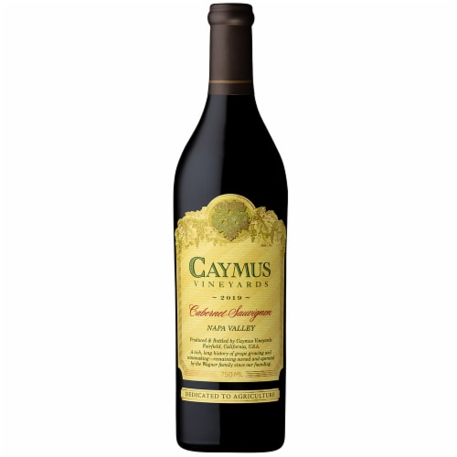 Caymus Vineyards Cabernet Sauvignon Red Wine Perspective: top