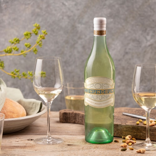 Caymus Vineyards Conundrum White Wine Perspective: top