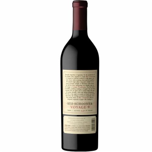 Caymus Vineyards Red Schooner Voyage 7 Red Wine Perspective: top